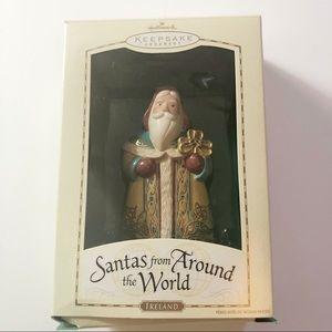 Vintage 2004 Hallmark Santa Around the World